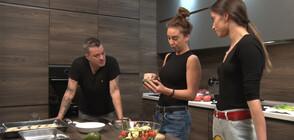"""Италиански кулинарни изкушения от Мариян Вълев и """"златните момичета"""" в """"Черешката на тортата"""""""