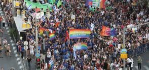 Хиляди хора се включиха в 18-ото издание на гей парада в Йерусалим