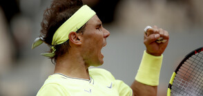 Звездите на тениса смениха корта с бадминтон игрище (ВИДЕО)