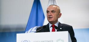 Албанският президент загрижен за възможността от връщане на визовия режим