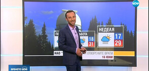Прогноза за времето (14.06.2019 - обедна)