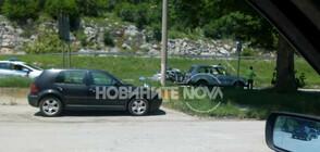 2 жертви, 3 ранени при челен удар на кола с патрулка край Ябланица (ВИДЕО+СНИМКИ)