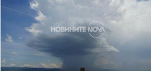 Лятна буря удари София (ВИДЕО+СНИМКИ)