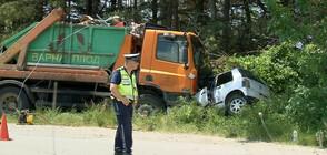 Две жени загинаха, дете е в тежко състояние след катастрофа край Варна (СНИМКИ)