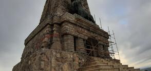 Започва ремонт на Паметника на Шипка (ВИДЕО+СНИМКИ)