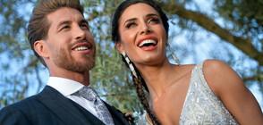 Приказната сватба на Серхио Рамос и Пилар Рубио (ГАЛЕРИЯ)