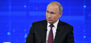 """Хакери атакуваха """"Пряката линия"""" на Владимир Путин (ВИДЕО+СНИМКИ)"""