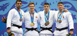 Ивайло Иванов стана европейски вицешампион по джудо на Игрите в Минск (СНИМКИ)