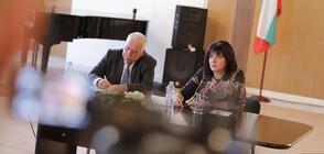 Цвета Караянчева се срещна с българската общност в Москва