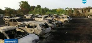 Десетки коли на туристи изгоряха при пожар в Италия (ВИДЕО)