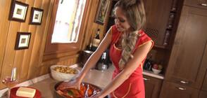 """Агнешко с плеймейтката Жанета Осипова в """"Черешката на тортата"""""""