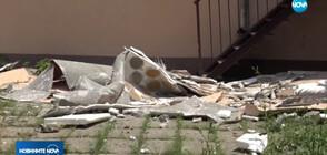 Помощ от държавата ще поиска училището в Пловдив, чиято фасада падна