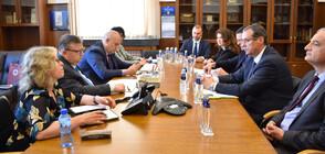 Цацаров и директорът на ОЛАФ обсъдиха разследванията за защита на финансовите интереси на ЕС