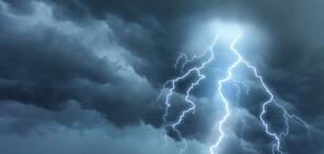 Мощна буря удари Българево (ВИДЕО+СНИМКИ)