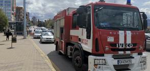 Пожар в коритото на р. Марица в Пловдив подпали незаконни къщи