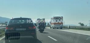 """Катастрофа с турски граждани на магистрала """"Тракия"""" (СНИМКИ)"""