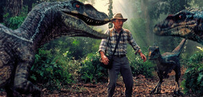 """Тиранозавър се изправя срещу смъртоносен съперник в """"Джурасик парк 3"""""""