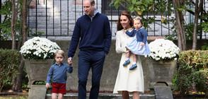 Принц Джордж навърши 6 години (СНИМКИ)