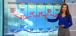 Прогноза за времето (22.07.2019 - централна)