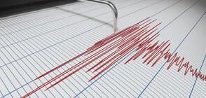 Земетресение с магнитуд 2,7 край Своге