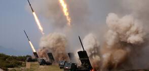 Северна Корея изстреля две нови ракети