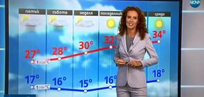Прогноза за времето (15.08.2019 - централна)