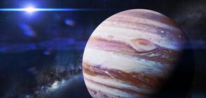 Мощен челен сблъсък обяснява странното ядро на Юпитер