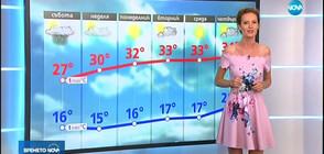 Прогноза за времето (16.08.2019 - централна)