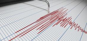 Земетресение в Казахстан