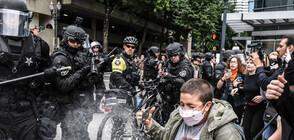 Крайнодесни и крайнолеви на митинг и контрамитинг в Портланд (ВИДЕО+СНИМКИ)