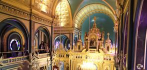 Вътрешността на Желязната църква в Истанбул не е пострадала от проливния дъжд