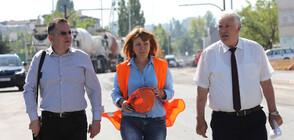 """Фандъкова испектира изграждането на метростанция """"Мизия"""" (СНИМКИ)"""