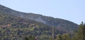 Овладян е пожарът край Реброво, има изгорели къщи (ВИДЕО+СНИМКИ)