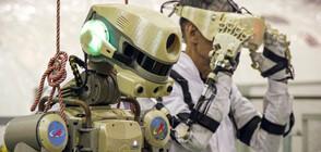 Руски робот излетя в Космоса (ВИДЕО)