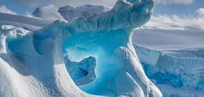 Прах от звездни експлозии в снега на Антарктида