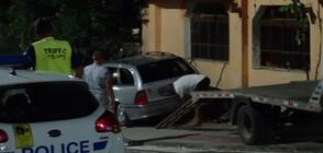 Автомобил се вряза в заведение в Дупница, уби посетител и рани двама (ВИДЕО+СНИМКИ)