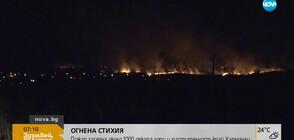 Овладян е пожарът край Харманли (ВИДЕО)