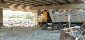 Стотици незаконни сметища под мостовете у нас
