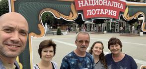 Захари Бахаров се срещна с късметлии с печалби за 1 450 000 лева в Хасково