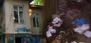 Къщата на създателя на Морската градина във Варна се превърна в сметище