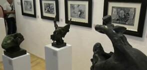 За първи път Вежди Рашидов показа личната си колекция от картини и скулптури