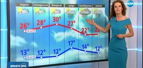 Прогноза за времето (15.09.2019 - обедна)