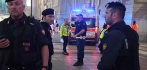 """С викове """"Аллах Акбар"""": Мъж заби ножица във врата на войник в Милано"""