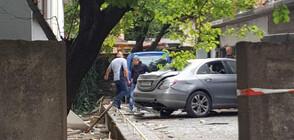 Взривиха колата на помощник на частен съдебен изпълнител (ВИДЕО+СНИМКИ)