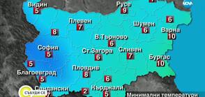 Прогноза за времето (21.09.2019 - сутрешна)