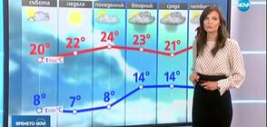 Прогноза за времето (21.09.2019 - обедна)