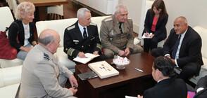 Борисов се срещна с председателя на Военния комитет на НАТО сър Стюарт Пийч (ВИДЕО+СНИМКИ)