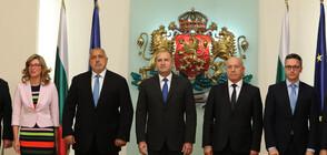 СРЕЩА ПРИ ПРЕЗИДЕНТА: България подкрепя Северна Македония за ЕС, но под условие
