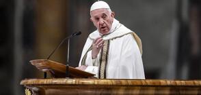 """Папата е """"огорчен"""" от превръщането на """"Св. София"""" в джамия"""