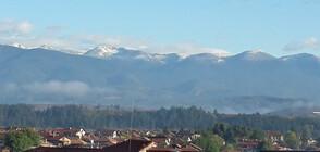 Снежна покривка по високите върхове в България (ВИДЕО)